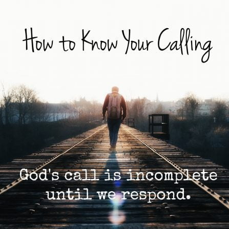 How do you know your calling blog