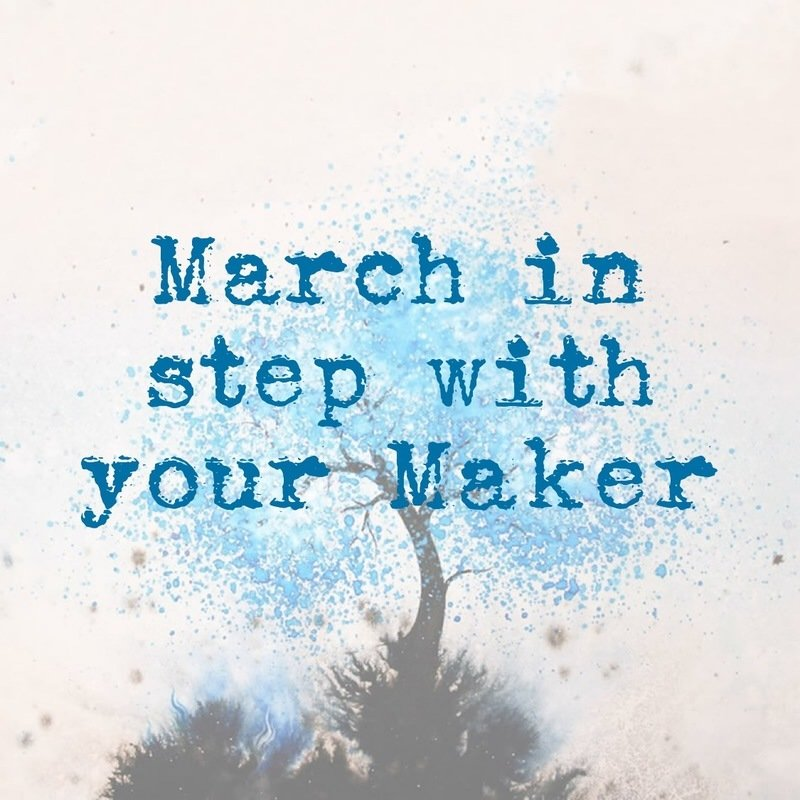 March in step with your Maker blog