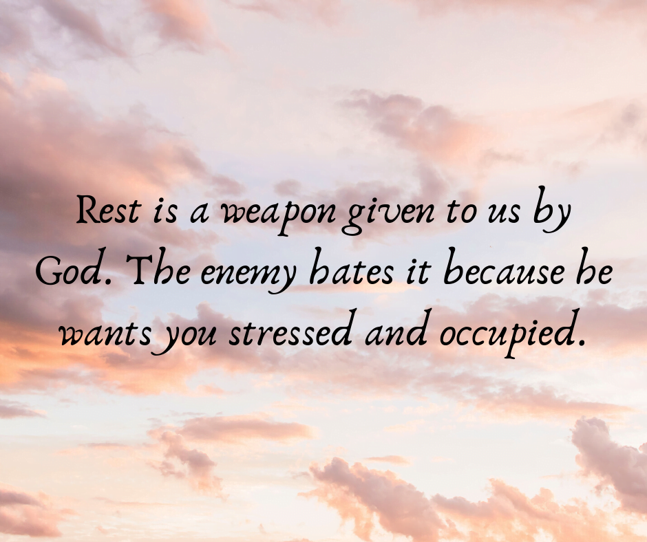 Is it Hard for You to Rest?